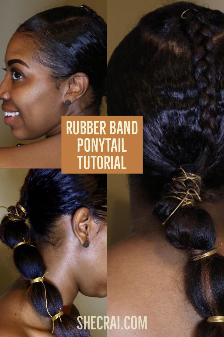 Rubber Band Ponytail Archives
